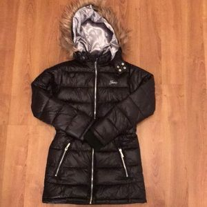 Guess Chelsea Hooded Puffer Coat